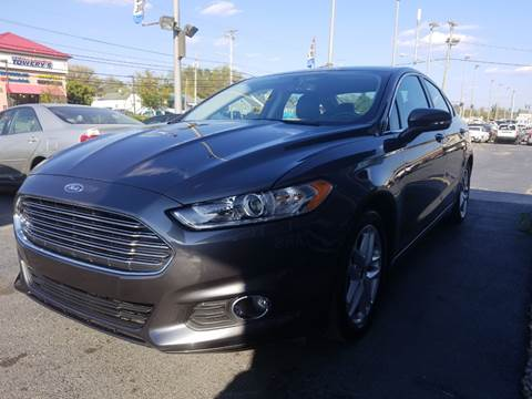 2016 Ford Fusion for sale at Martins Auto Sales in Shelbyville KY