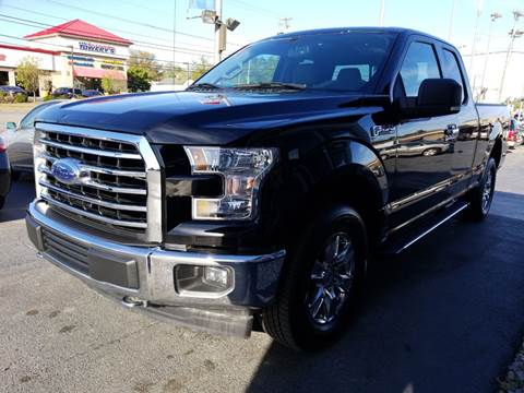2017 Ford F-150 for sale at Martins Auto Sales in Shelbyville KY