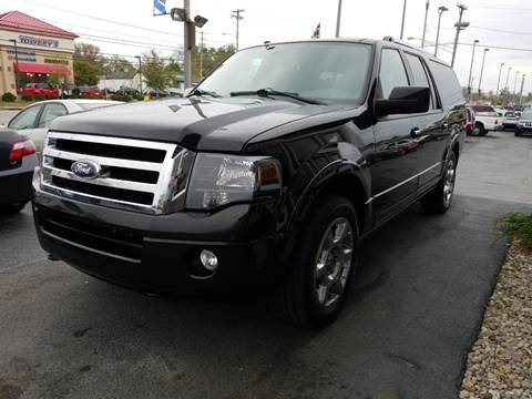 2014 Ford Expedition EL for sale at Martins Auto Sales in Shelbyville KY