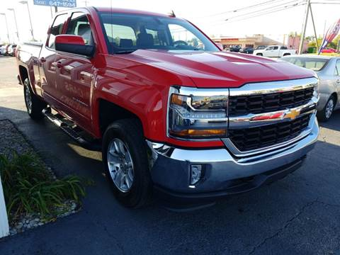 2017 Chevrolet Silverado 1500 for sale at Martins Auto Sales in Shelbyville KY