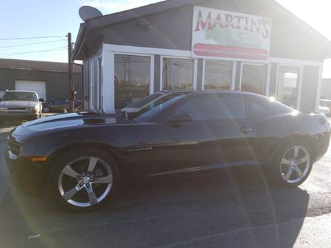 2011 Chevrolet Camaro for sale at Martins Auto Sales in Shelbyville KY