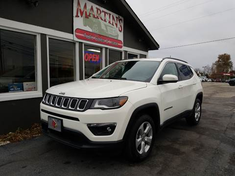 2018 Jeep Compass for sale at Martins Auto Sales in Shelbyville KY