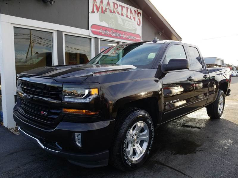 2018 Chevrolet Silverado 1500 for sale at Martins Auto Sales in Shelbyville KY