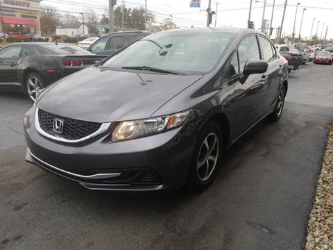 2015 Honda Civic for sale at Martins Auto Sales in Shelbyville KY