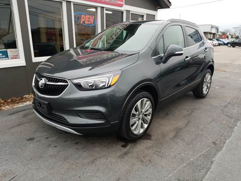 2017 Buick Encore for sale at Martins Auto Sales in Shelbyville KY