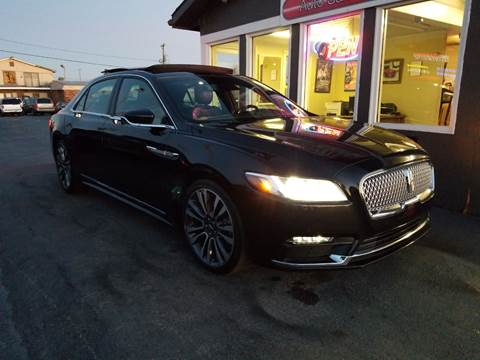2017 Lincoln Continental for sale at Martins Auto Sales in Shelbyville KY