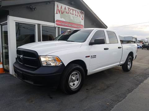 2015 RAM Ram Pickup 1500 for sale at Martins Auto Sales in Shelbyville KY