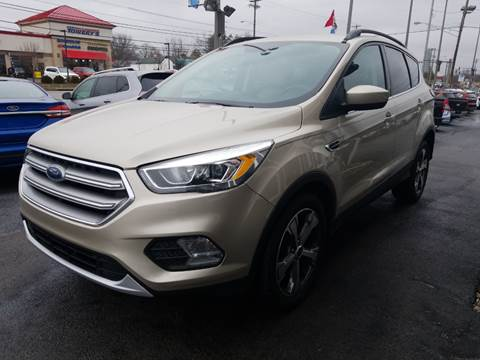 2017 Ford Escape for sale at Martins Auto Sales in Shelbyville KY