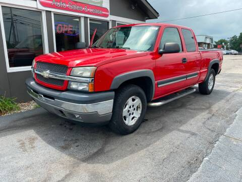 2005 Chevrolet Silverado 1500 for sale at Martins Auto Sales in Shelbyville KY