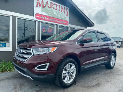 2017 Ford Edge for sale at Martins Auto Sales in Shelbyville KY