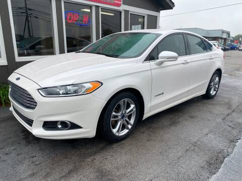 2016 Ford Fusion Hybrid for sale at Martins Auto Sales in Shelbyville KY