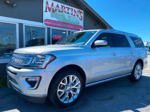 2018 Ford Expedition MAX for sale at Martins Auto Sales in Shelbyville KY