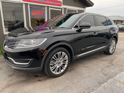 2017 Lincoln MKX for sale at Martins Auto Sales in Shelbyville KY