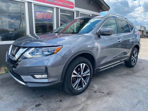 2017 Nissan Rogue for sale at Martins Auto Sales in Shelbyville KY