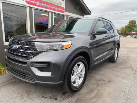 2020 Ford Explorer for sale at Martins Auto Sales in Shelbyville KY