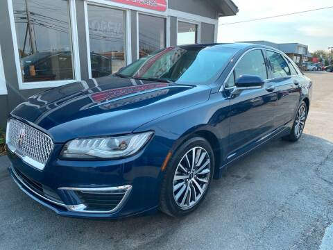 2017 Lincoln MKZ Hybrid for sale at Martins Auto Sales in Shelbyville KY
