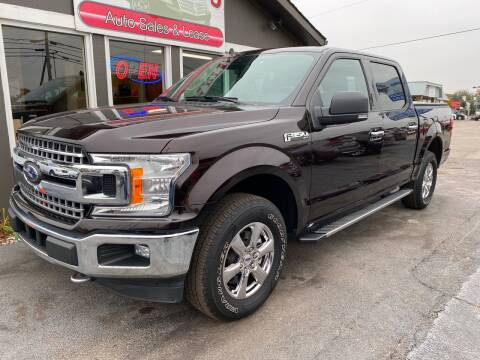 2019 Ford F-150 for sale at Martins Auto Sales in Shelbyville KY