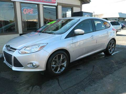2013 Ford Focus for sale at Martins Auto Sales in Shelbyville KY
