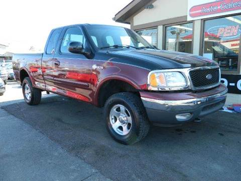 2003 Ford F-150 for sale at Martins Auto Sales in Shelbyville KY