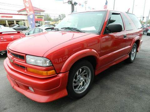 2001 Chevrolet Blazer for sale at Martins Auto Sales in Shelbyville KY