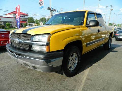 2003 Chevrolet Silverado 1500 for sale at Martins Auto Sales in Shelbyville KY
