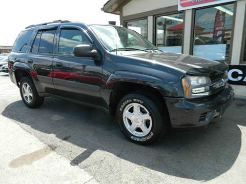 2005 Chevrolet TrailBlazer for sale at Martins Auto Sales in Shelbyville KY
