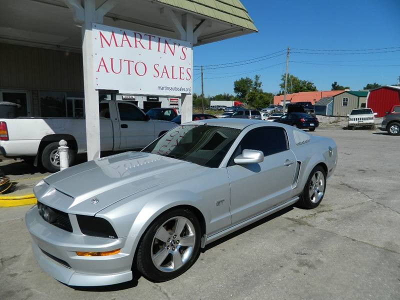 Shelbyville Auto Sales >> 2006 Ford Mustang GT Deluxe 2dr Coupe In Shelbyville KY - Martins Auto Sales