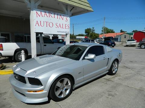 2006 Ford Mustang for sale at Martins Auto Sales in Shelbyville KY