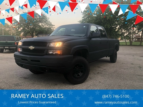 Chevrolet Used Cars financing For Sale Zion RAMEY AUTO SALES