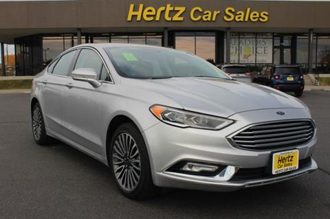 2017 Ford Fusion for sale in Billings, MT