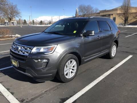 2019 Ford Explorer XLT for sale at Hertz Car Sales in Layton UT
