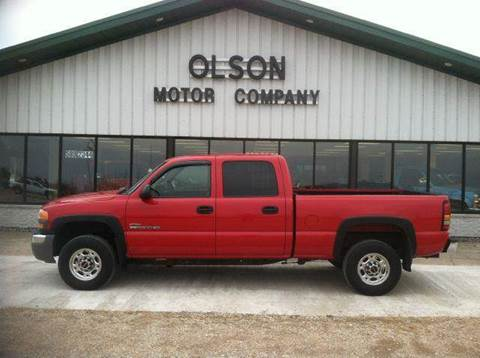 2005 GMC Sierra 2500 for sale at Olson Motor Company in Morris MN