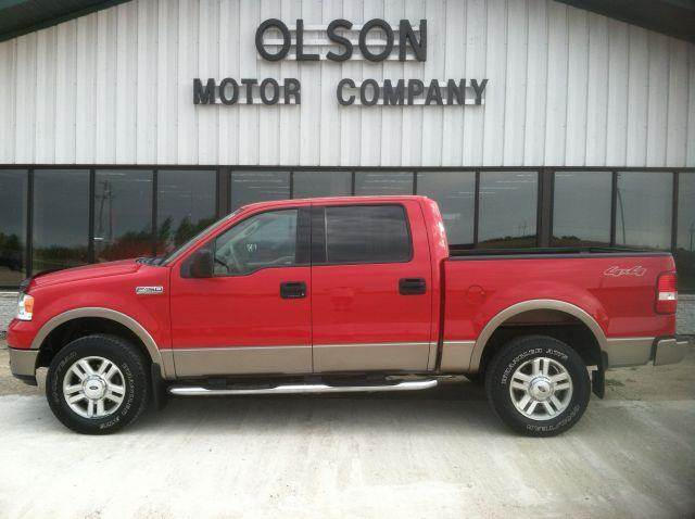 2004 Ford F150 Lariat >> 2004 Ford F 150 Lariat Supercrew 4wd In Morris Mn Olson