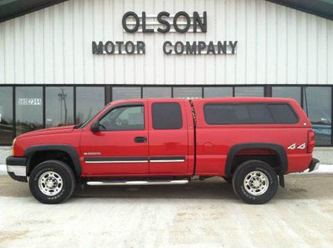 2003 Chevrolet Silverado 2500 for sale at Olson Motor Company in Morris MN