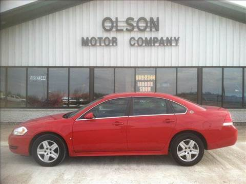 2009 Chevrolet Impala for sale at Olson Motor Company in Morris MN