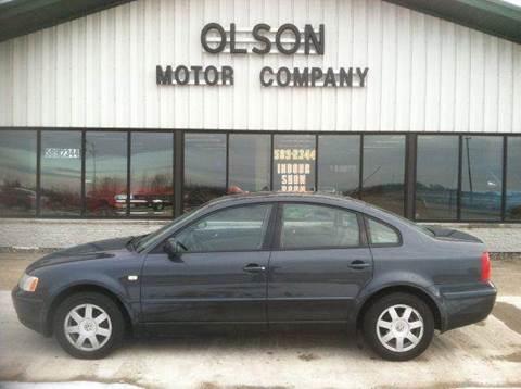 2000 Volkswagen Passat for sale at Olson Motor Company in Morris MN