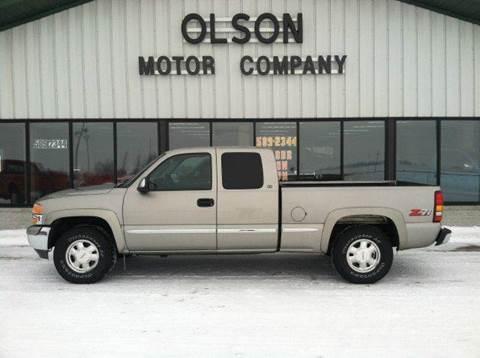1999 GMC Sierra 1500 for sale at Olson Motor Company in Morris MN
