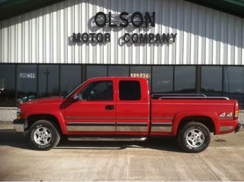 1999 Chevrolet Silverado 1500 for sale at Olson Motor Company in Morris MN