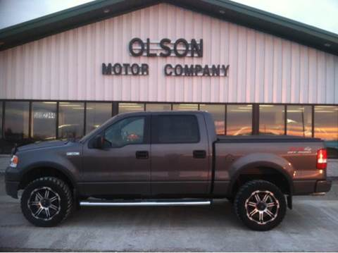 2005 Ford F-150 for sale at Olson Motor Company in Morris MN