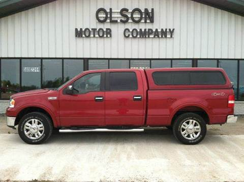 2008 Ford F-150 for sale at Olson Motor Company in Morris MN