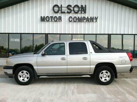 2005 Chevrolet Avalanche for sale at Olson Motor Company in Morris MN
