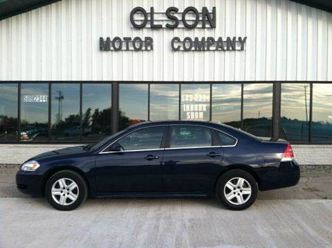 2010 Chevrolet Impala for sale at Olson Motor Company in Morris MN