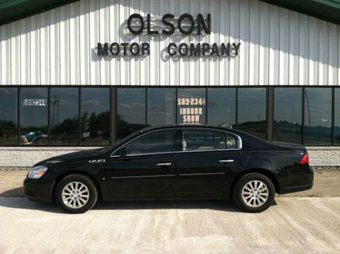 2008 Buick Lucerne for sale at Olson Motor Company in Morris MN