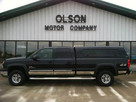 2005 Chevrolet Silverado 2500 for sale at Olson Motor Company in Morris MN