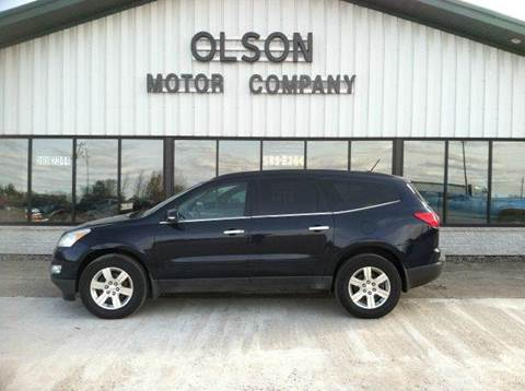 2012 Chevrolet Traverse for sale at Olson Motor Company in Morris MN