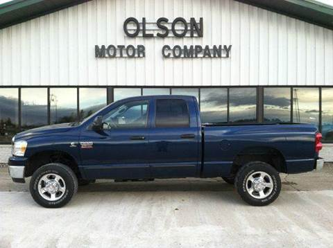 2007 Dodge Ram Pickup 2500 for sale at Olson Motor Company in Morris MN