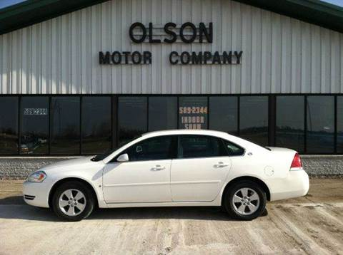 2007 Chevrolet Impala for sale at Olson Motor Company in Morris MN