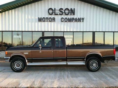 1990 Ford F-250 for sale at Olson Motor Company in Morris MN