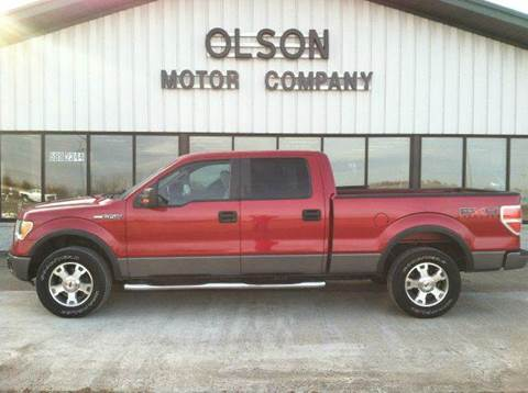 2009 Ford F-150 for sale at Olson Motor Company in Morris MN
