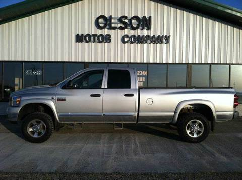 2008 Dodge Ram Pickup 3500 for sale at Olson Motor Company in Morris MN